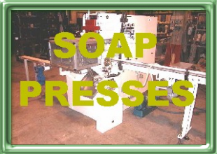 Soap press, soap stamper,